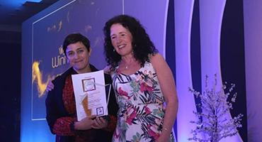 Overall GlobalWIIN Platinum Award Winner 2019-2020 from Iceland